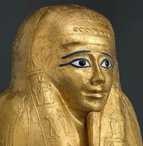The Met Acquires Ancient Egyptian Gilded Coffin