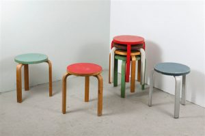 Alvar Aaltos Stool 60 Turns 80
